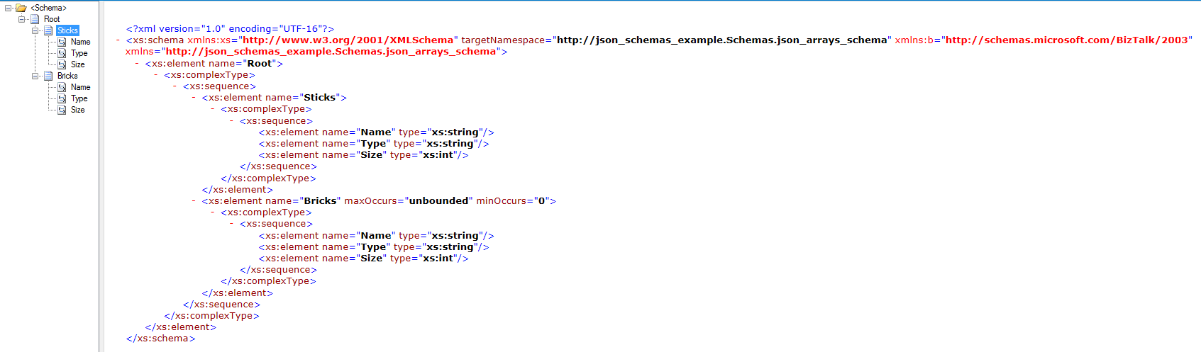 Experimenting with BizTalk's XML to JSON conversion - juharyhanen com